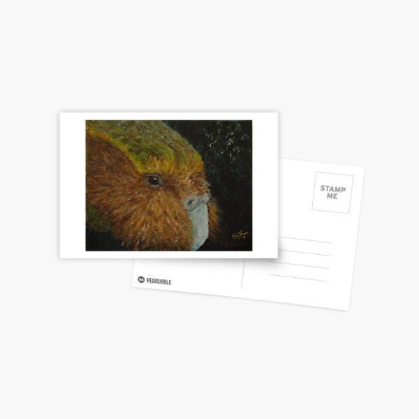 Kakapo (Strigops habroptilus) Postcard
