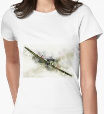 Hawker Hurricane - Painting Women's Fitted T-Shirt