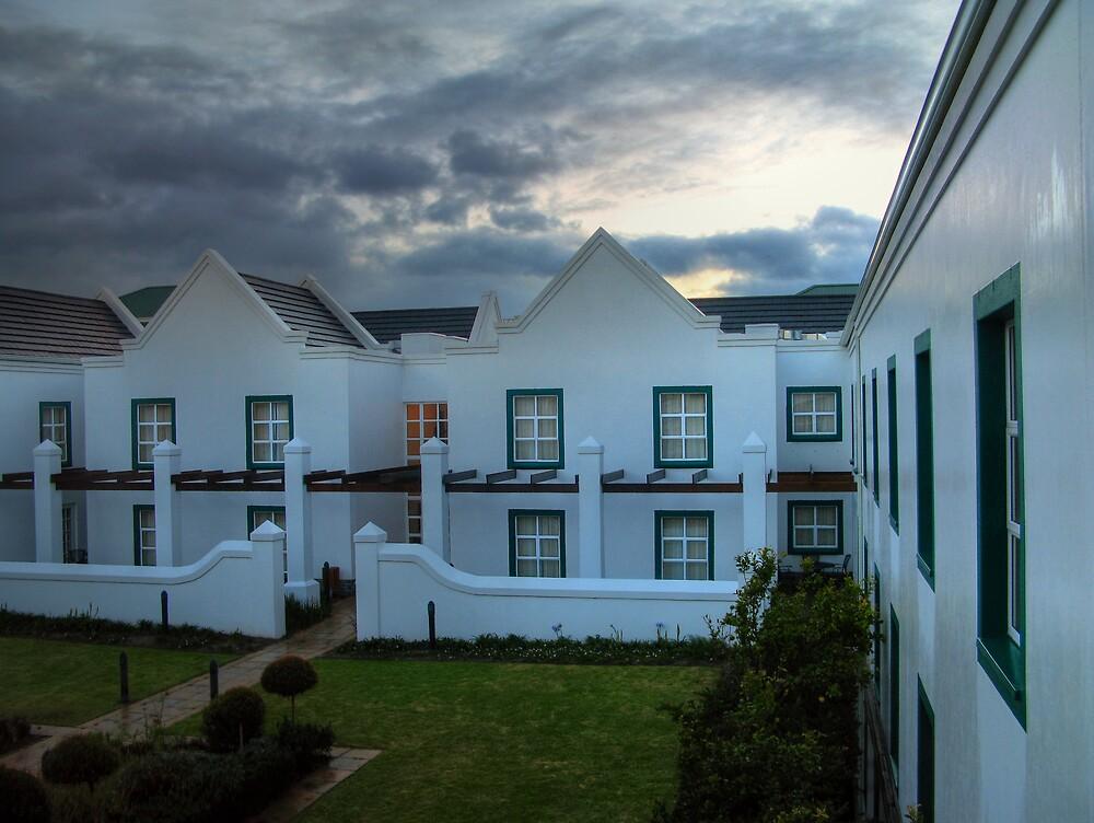 City Lodge at Sunrise by Gideon van Zyl