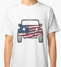 American jeep wrangler  Classic T-Shirt
