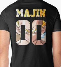 Vegeta Majin Dragon Ball Jersey - DBZ Men's V-Neck T-Shirt