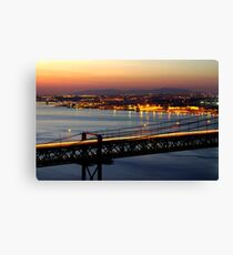 Bridge Over Tagus Canvas Print