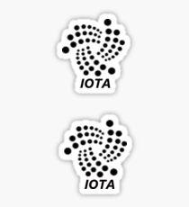 IOTA logo stickers Sticker