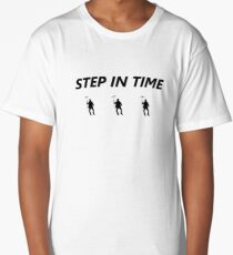Step In Time Long T-Shirt