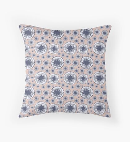 Candy Floral Pattern Throw Pillow