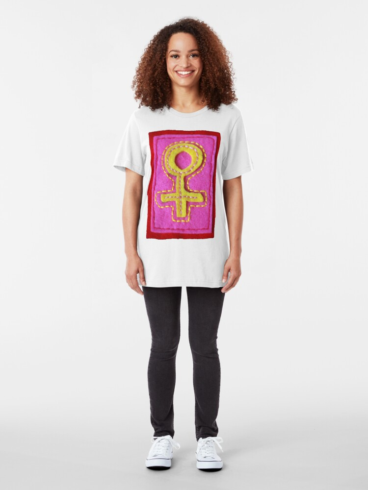 Alternate view of Venus Symbol Tee Shirt Slim Fit T-Shirt