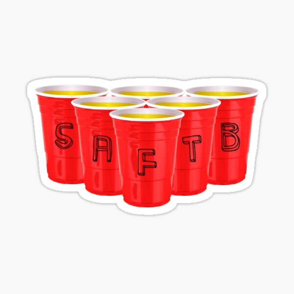 Pong With The Boys Sticker