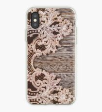 rustikale Western Country Farmhouse Chic Scheune Holzspitze iPhone-Hülle & Cover