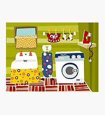 Laundry Room Photographic Print
