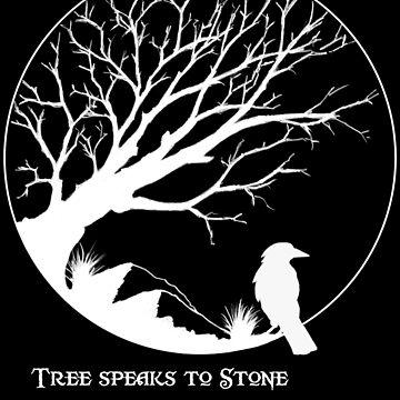 Tree Speaks to Stone.... reversed by wu-wei