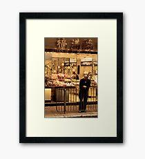 Hong Kong Man Framed Print
