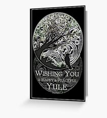 Yule Greetings Card Greeting Card