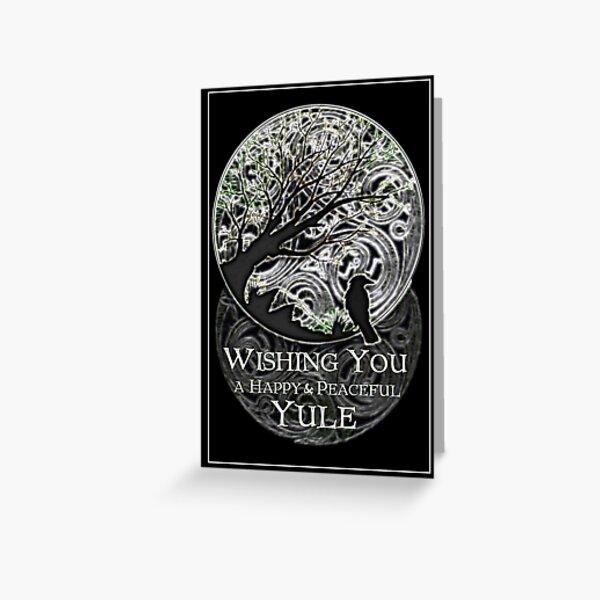Yule Greetings Card Greeting Card