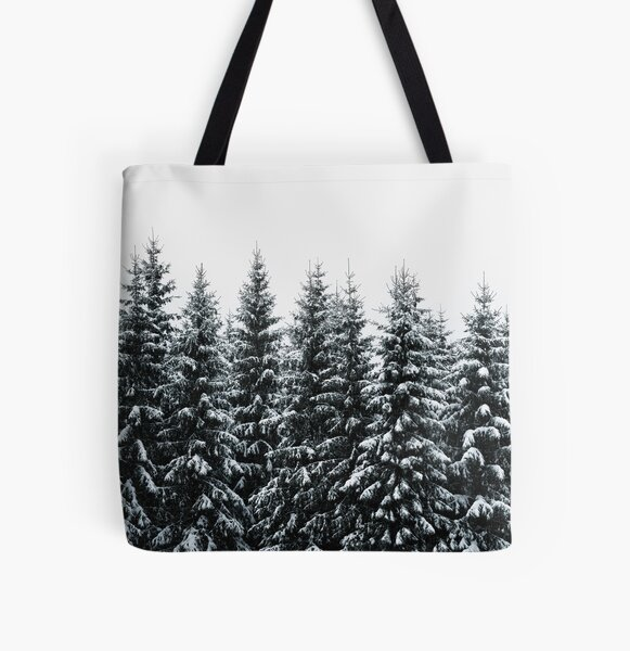 The White Bunch All Over Print Tote Bag
