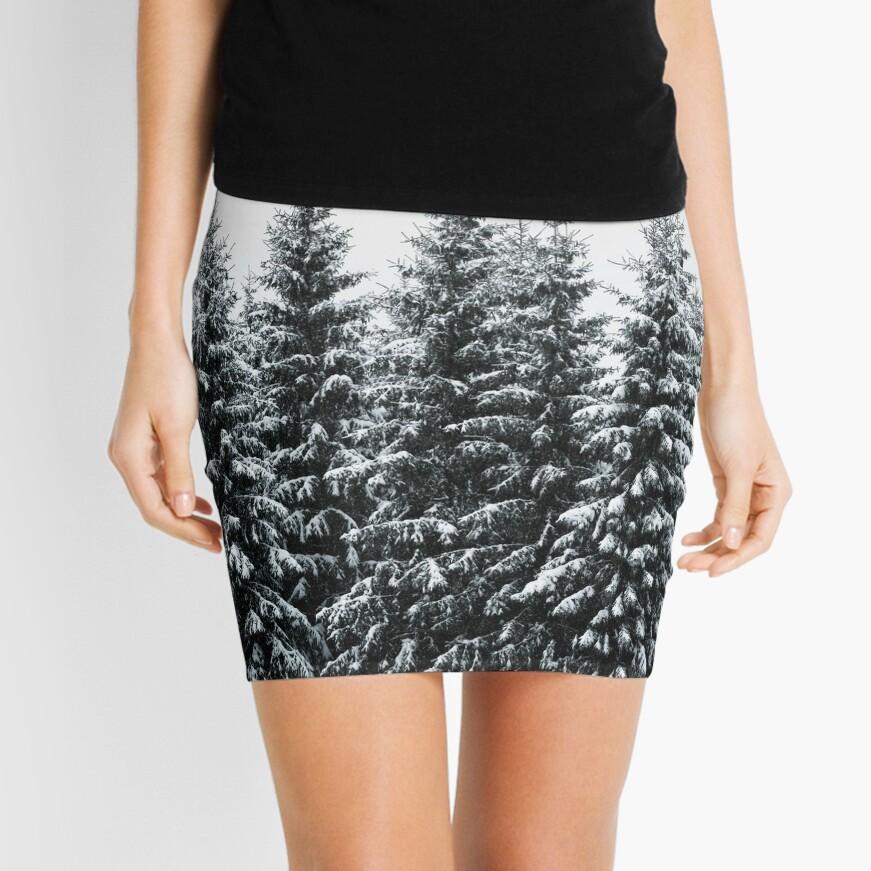 The White Bunch Mini Skirt