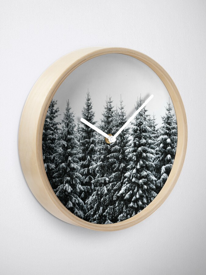 Alternate view of The White Bunch Clock