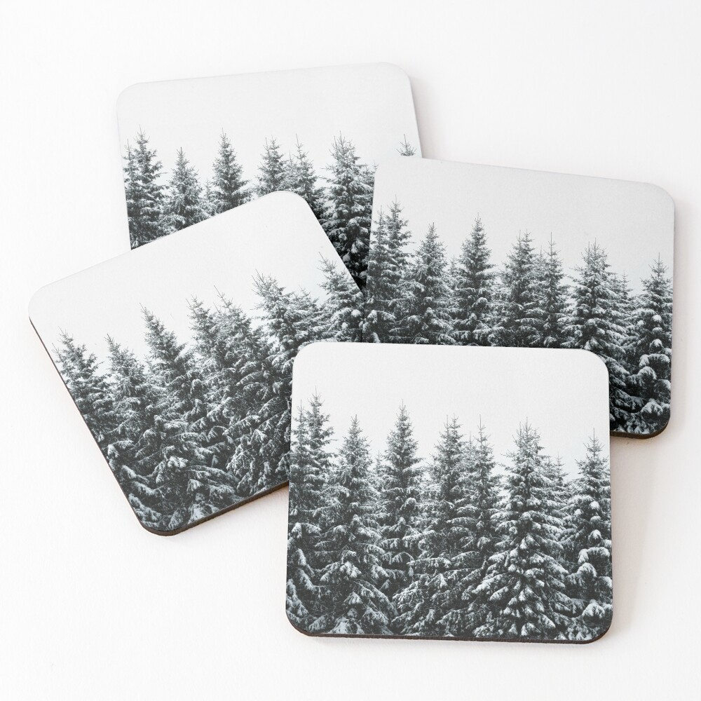The White Bunch Coasters (Set of 4)
