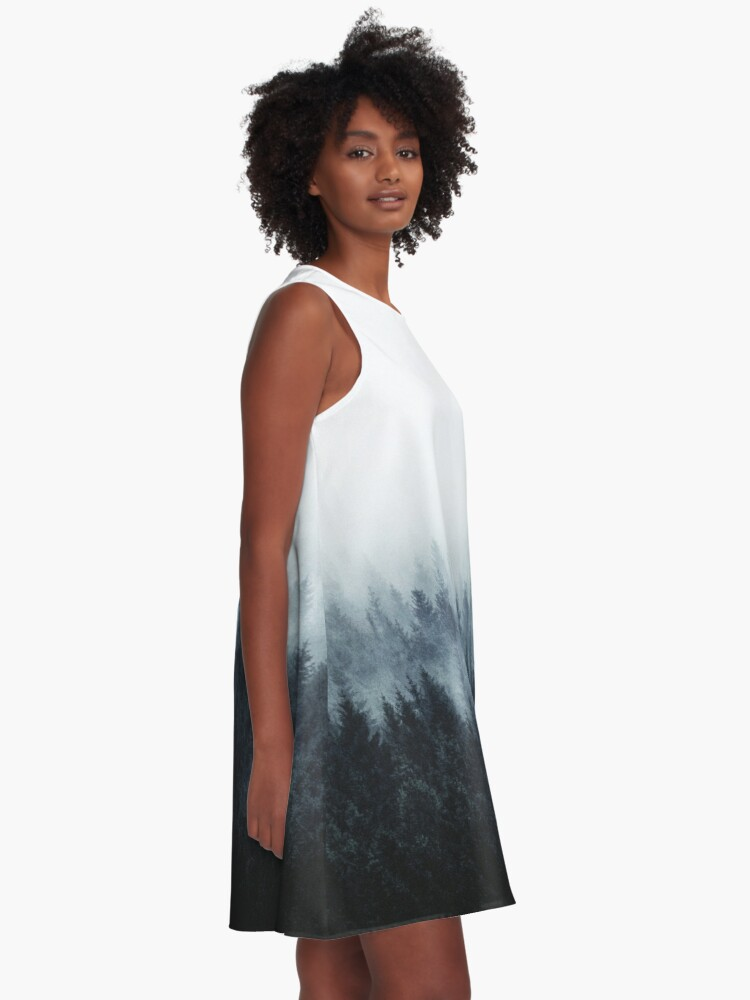 Alternate view of High And Low A-Line Dress