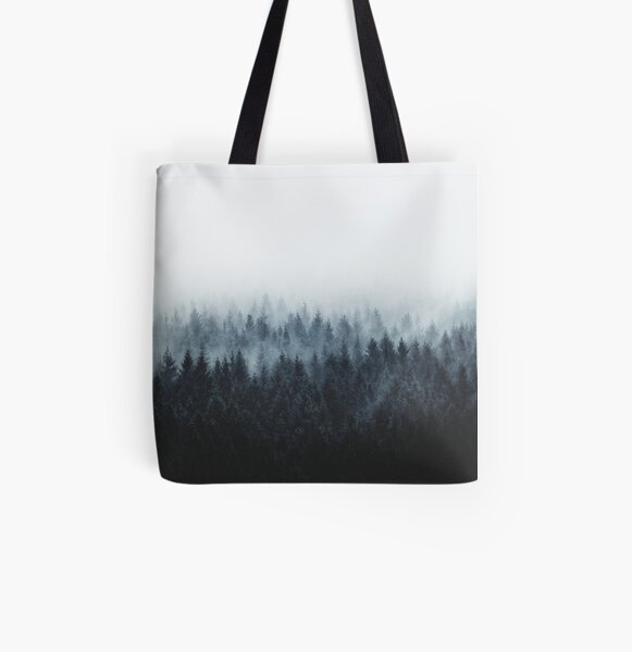 High And Low All Over Print Tote Bag