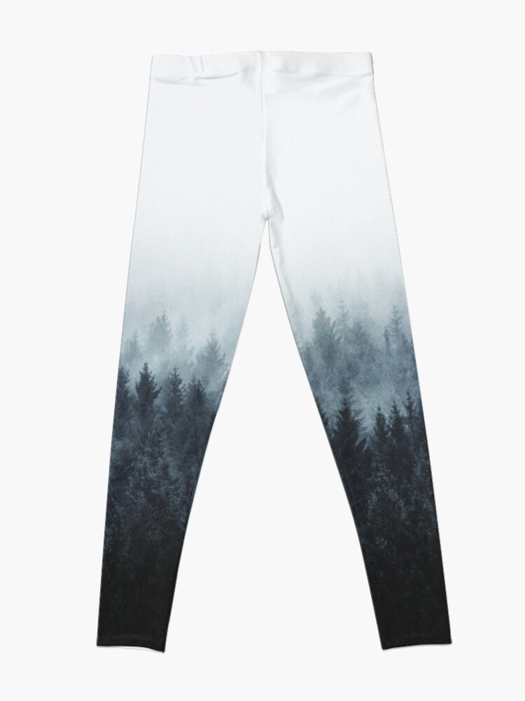 Alternate view of High And Low Leggings