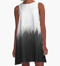 A Wilderness Somewhere A-Line Dress