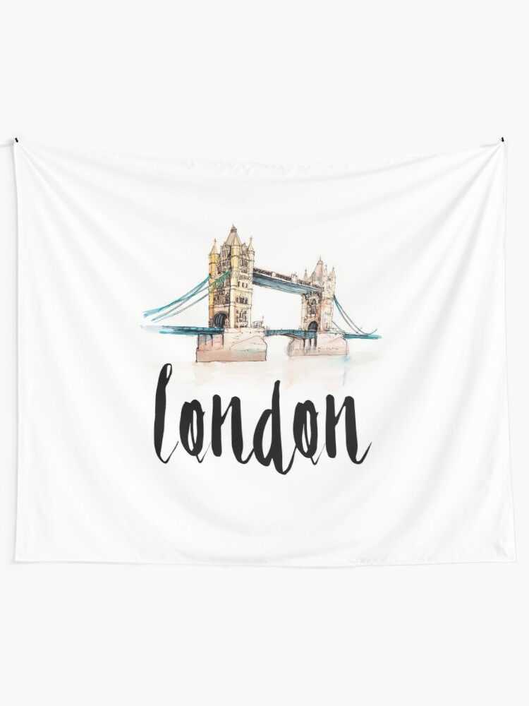 Alternate view of London Tapestry
