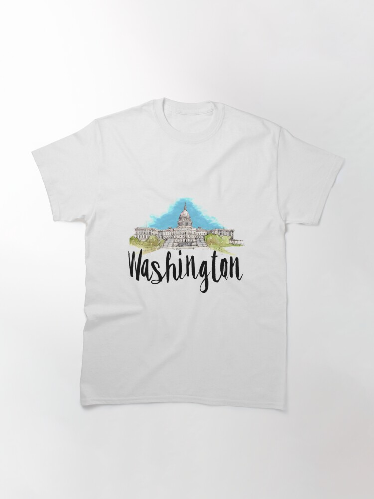 Alternate view of Washington Classic T-Shirt