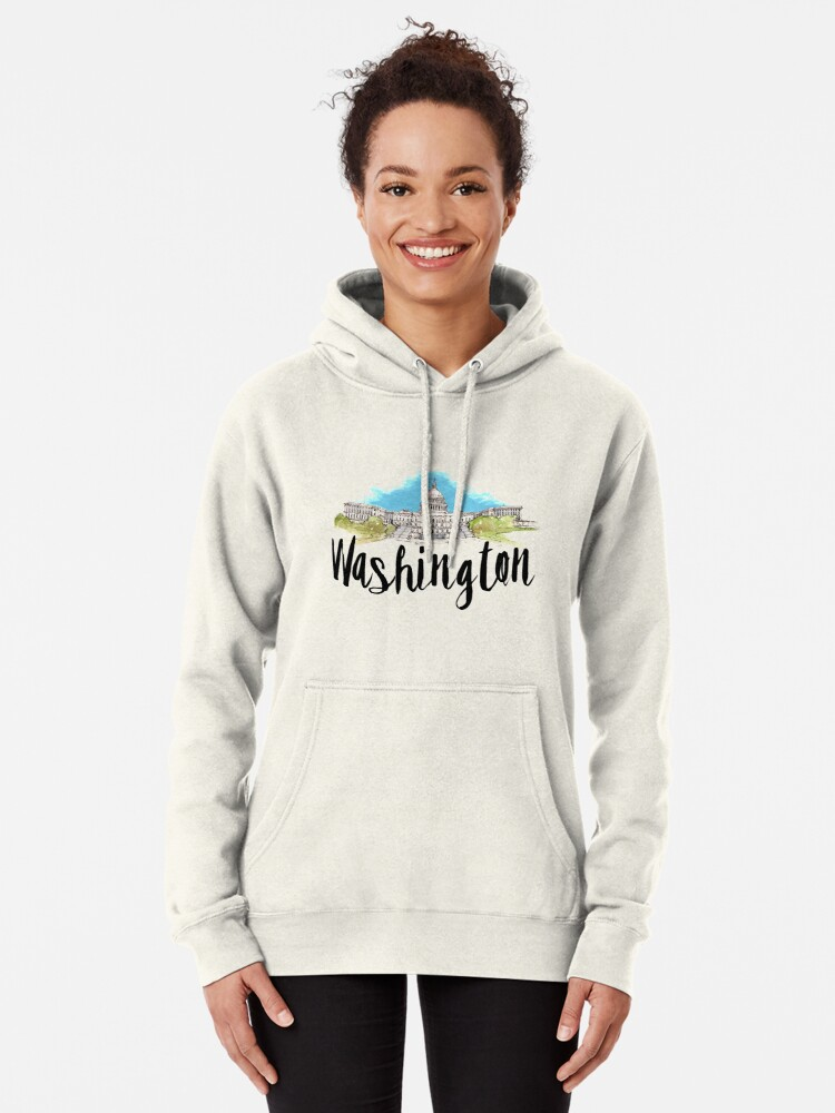 Alternate view of Washington Pullover Hoodie