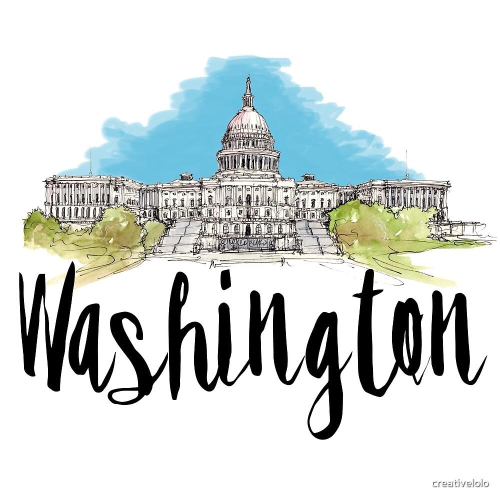 Washington by creativelolo
