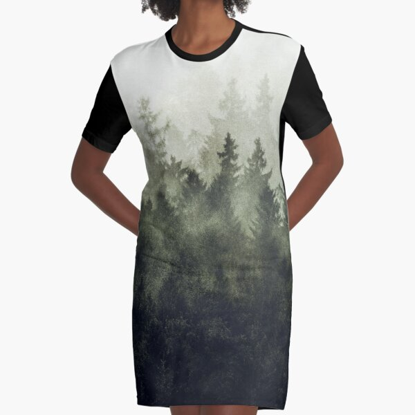 The Heart Of My Heart // Green Mountain Edit Graphic T-Shirt Dress