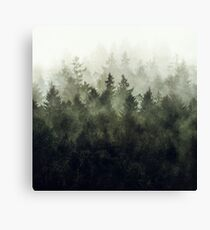 The Heart Of My Heart // Green Mountain Edit Canvas Print