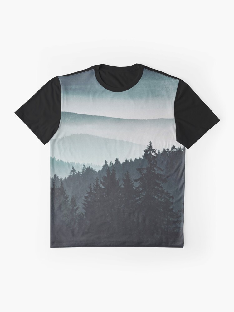 Alternate view of Mountain Light Graphic T-Shirt