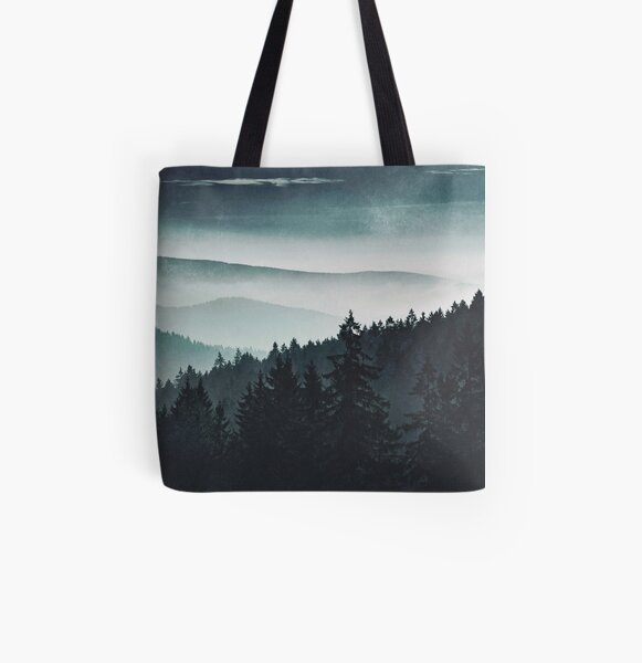 Mountain Light All Over Print Tote Bag