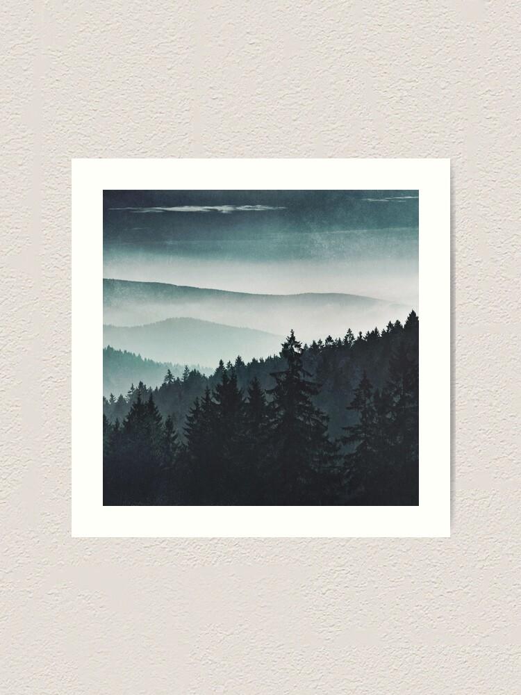Alternate view of Mountain Light Art Print