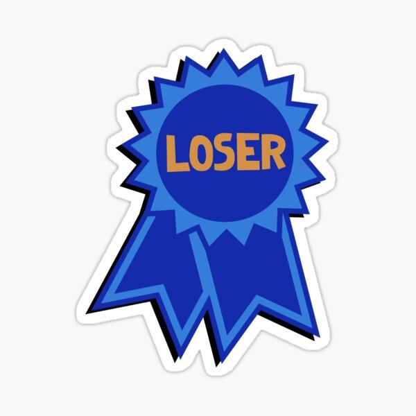 Loser Ribbon Sticker