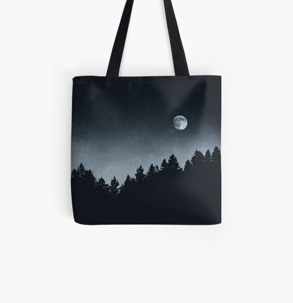 Under Moonlight All Over Print Tote Bag