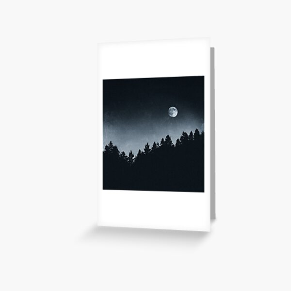 Under Moonlight Greeting Card