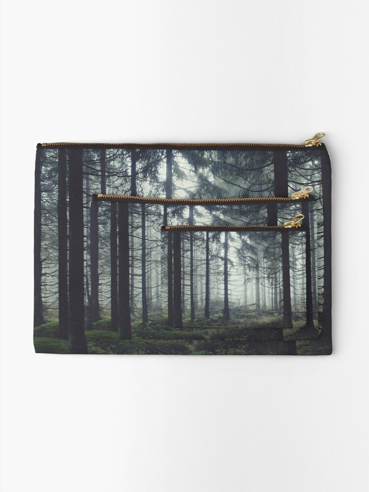 Alternate view of Through The Trees Zipper Pouch