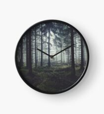 Through The Trees Clock