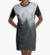 Waiting For Graphic T-Shirt Dress