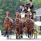 Tub Carriage & Horses by ChereeCheree