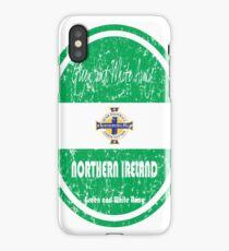 Football - Northern Ireland (Distressed) iPhone Case/Skin