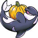 Pumpkin Orca by derangedhyena