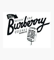 Art Burberry Photographic Print