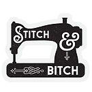Stitch and Bitch Sewing Machine by Natalie Perkins