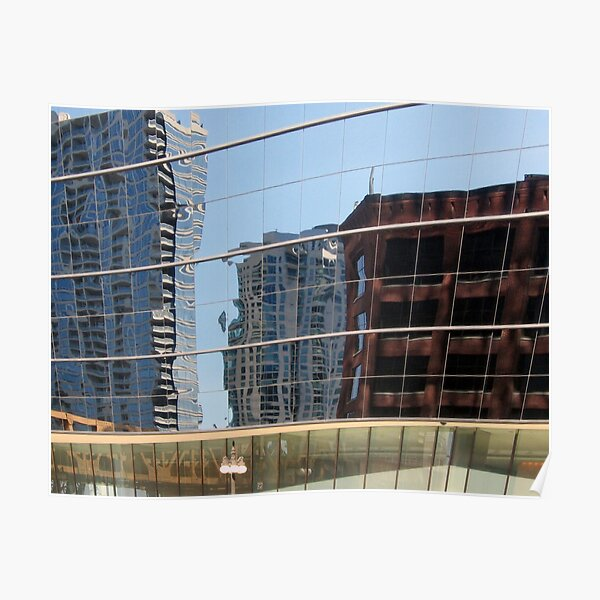 Urban Reflections Poster