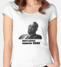 Stringer Bell - games beyond the Game Women's Fitted Scoop T-Shirt