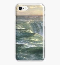 Niagara by Louis Remy Mignot, 1866 iPhone Case/Skin