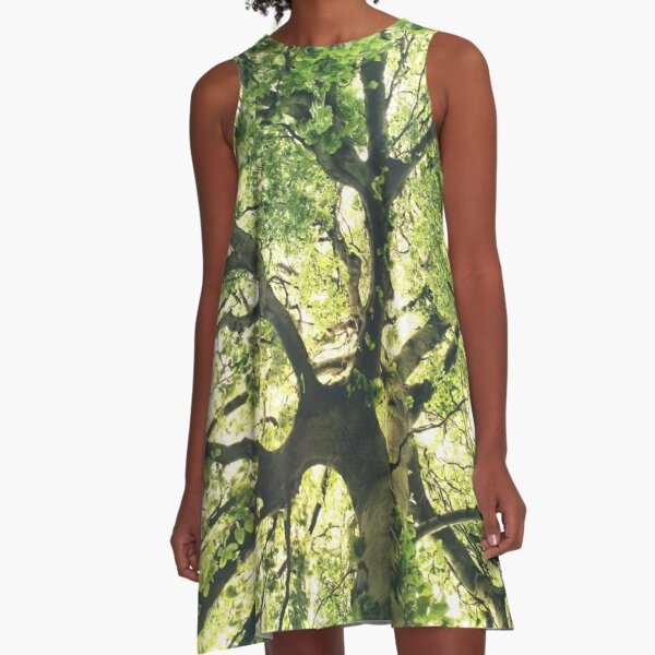 Under Your Skin A-Line Dress