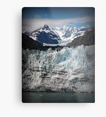 Glacier scene Metal Print